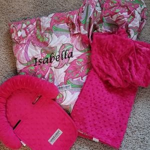 """""""Isabella"""" Carseat Canopy Set"""